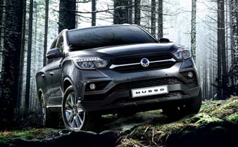 Search Used Cars at B V Rees SsangYong